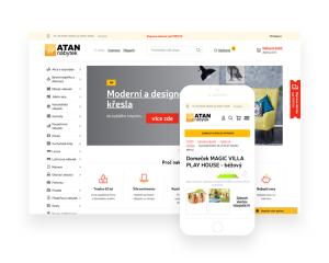 Opravdu velký e-shop pro ATAN nábytek
