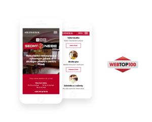 Web restaurace oceněný na WEBTOP100