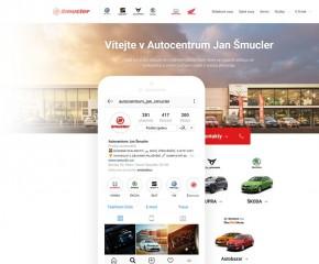 Dobýváme online svět pro Autocentrum Jan Šmucler